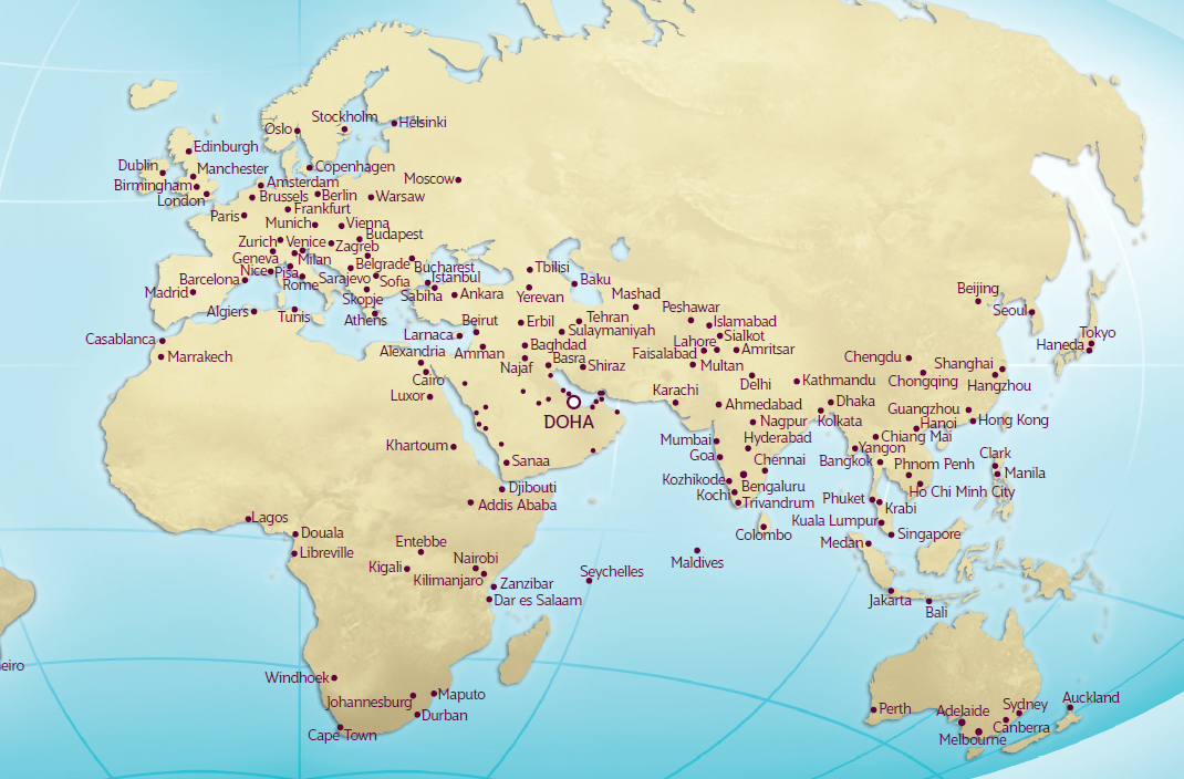 Qatar Airways Nett Fare Airline Tickets | Aviate World